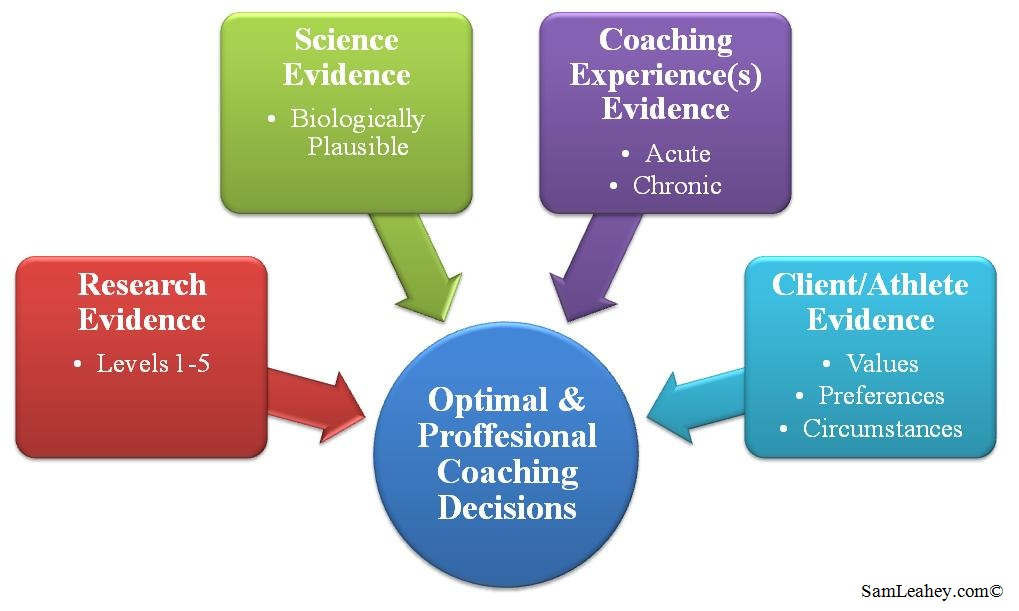 the process of evidence based practice