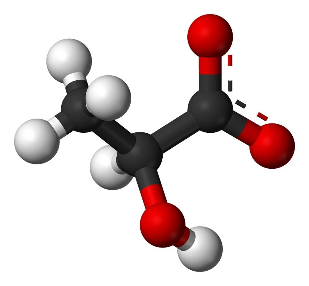 SamLeahey.com: Lactate Molecule