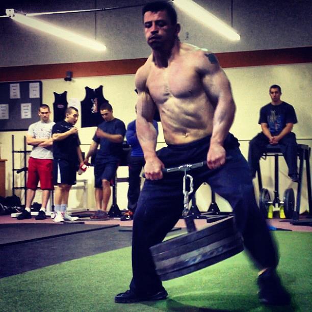 SamLeahey.com: Patrick Davidson Strongman